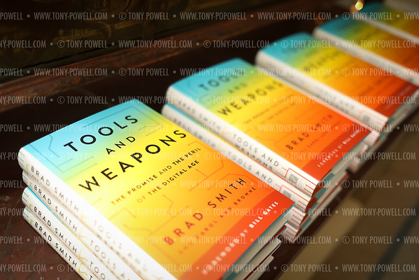 "Brad Smith ""Tools and Weapons"" Book Party"