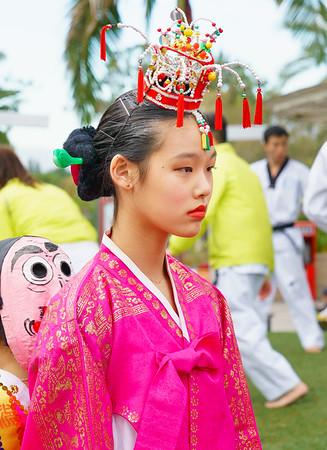 Korean Festival Santa Anita Mall 11-19-16