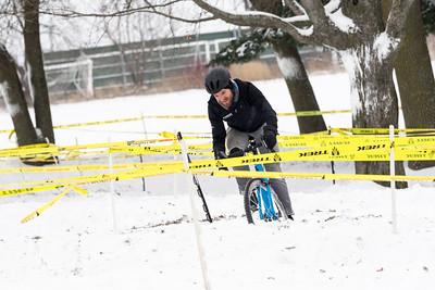 Cyclocross. December in Sun Prairie, WI