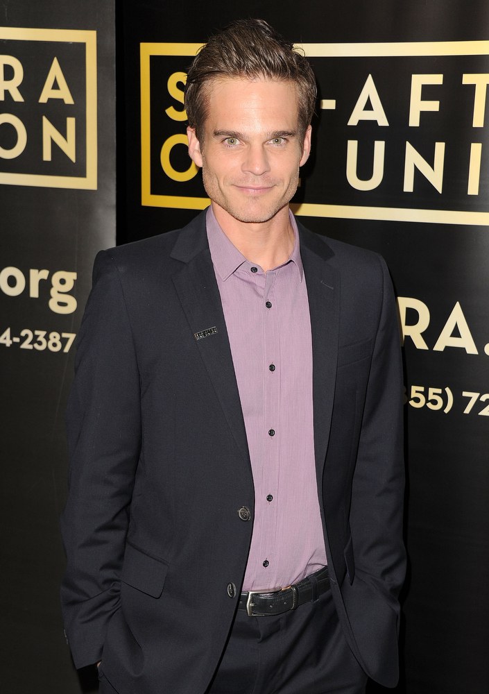 ". Actor Greg Rikaart attends the 40 years of ""The Young and The Restless\"" celebration presented by SAG-AFTRA at SAG-AFTRA on June 4, 2013 in Los Angeles, California.  (Photo by Angela Weiss/Getty Images)"