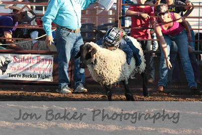 Day 4 - Mutton Bustin and Stick horse