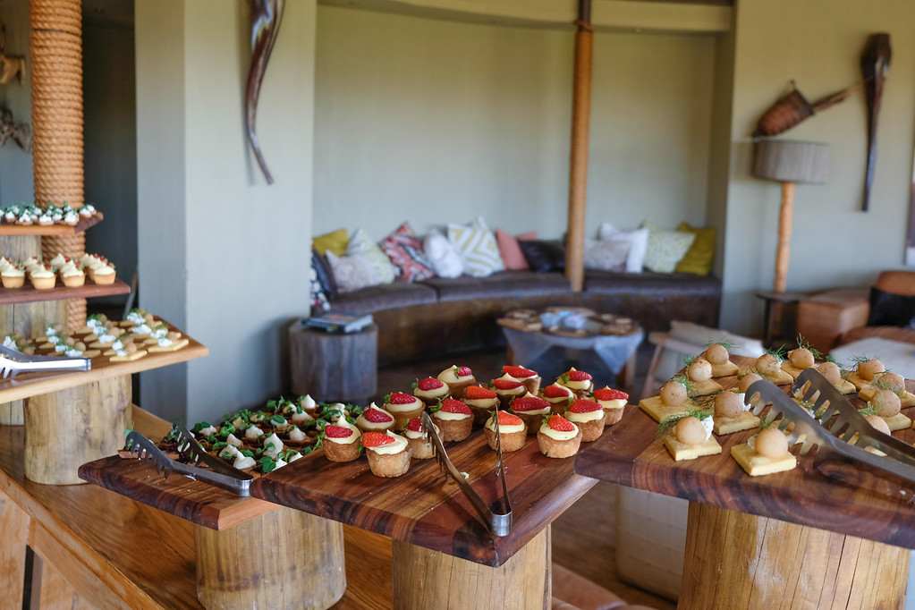 Food spread at Gondwana