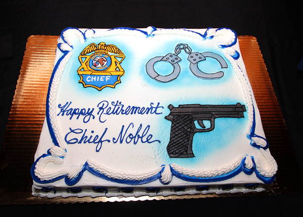 Police Chief Kevin Noble Retirement