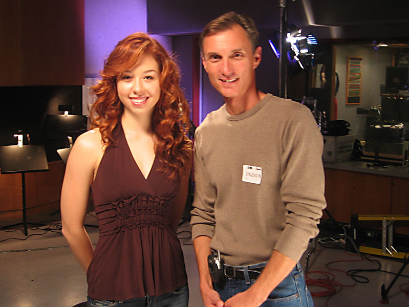 Working with vocalist Kelly Sweet a number of years ago at Capitol Records for the show Live at Capitol Records/Frequency.  Here's the segment we shot:  https://www.youtube.com/watch?v=aE0R8BpaepQ  Here's the title song from the album we were promoting: https://www.youtube.com/watch?v=dOz7MBFdg8I  I also like her Aerosmith remake:  https://www.youtube.com/watch?v=Ua-4NUURZjg