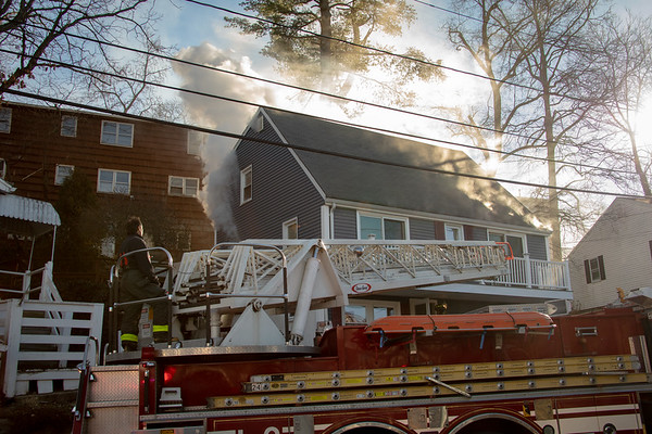 Waltham MA - 2 Alarms on Princeton Avenue