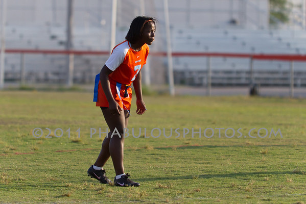 Boone Varsity Flag Football - 2011 #7