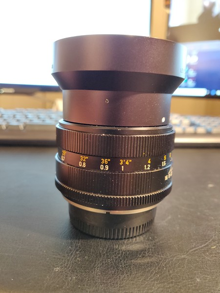 Leica R Summilux 50 mm 1.4 I - Converted to Nikon Mount - Serial 2806020 004.jpg