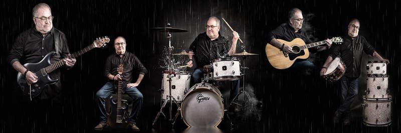Paul T guitar drum session
