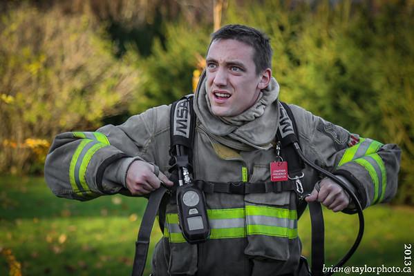 Mattress Fire in Kingston, Nova Scotia