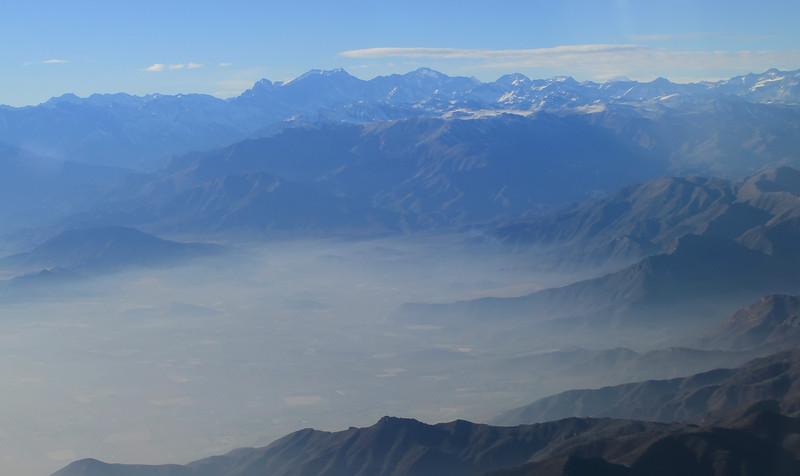 Approaching Santiago
