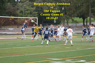 BC frosh Vs Old tappan County gm 1