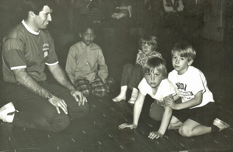 Open House 1973 Young Mat Men w Al Lilly.jpg