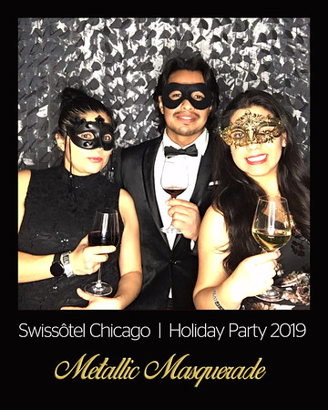 Metallic Masquerade Swissotel Chicago 2019 Holiday Party