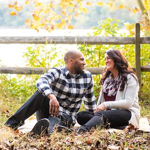 Chelsie & Eric's Engagement Portraits