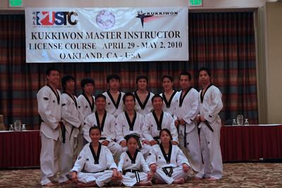 Kukkiwon Master Instructor Demo