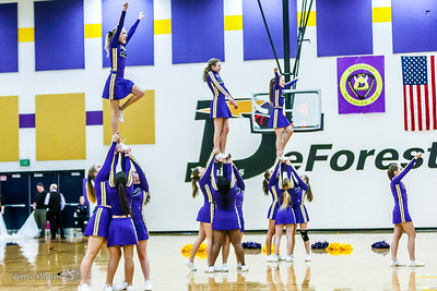 HS Sports - DeForest Girls Poms/Cheer - Jan 26, 2016