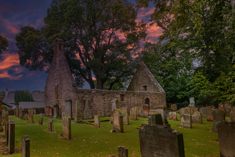 The Atmospheric & Spooky Auld Kirk in Alloway Ayr Scotland