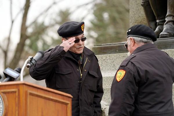 Pittsfield's Veterans Day ceremony, 2019 -111119