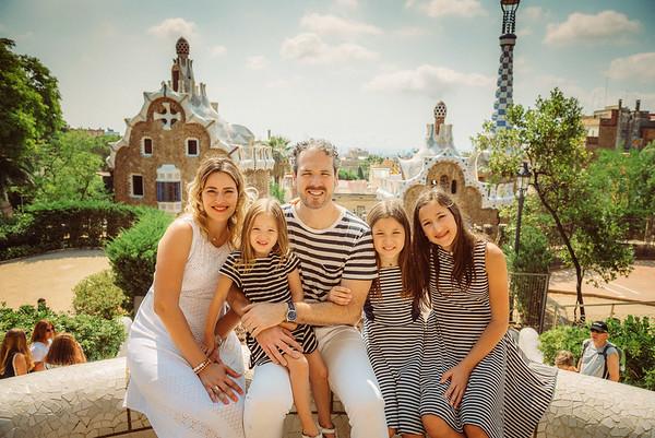 Park Guell | Vazquez Family