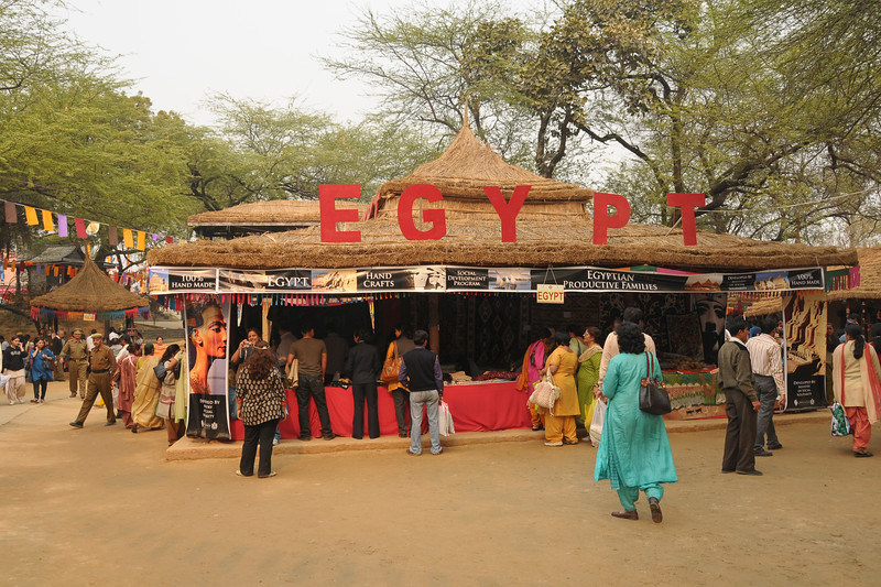 This year Egypt was the focus country and partner at the Suraj Kund Mela 2009 held in Haryana (outskirts of Delhi), North India. 