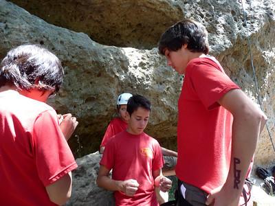 5/8/2009 - Rockclimb and Camp @ Malibu Creek State Park