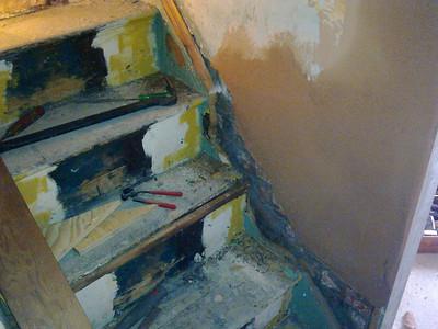 Stair stringers, repair