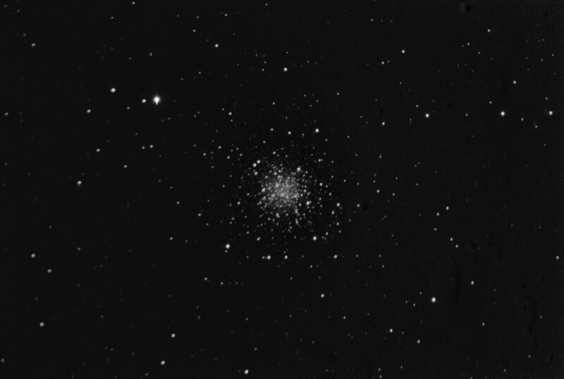 M68  - NGC4590 Globular Cluster in Hydra - 21/4/2019 (Processed Mono stack)