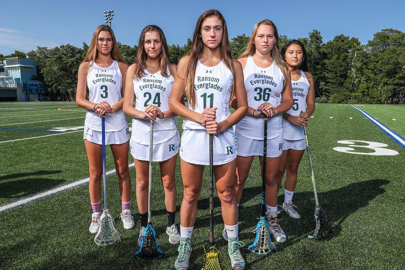 Ransom Everglades Lacrosse Girls Photo Shoot