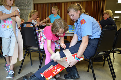 Lions Club Safety Camp