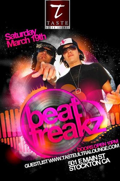 Beat Freakz @ Taste Ultra Lounge 3.19.11