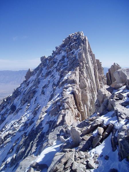 Mt. Russell East summit