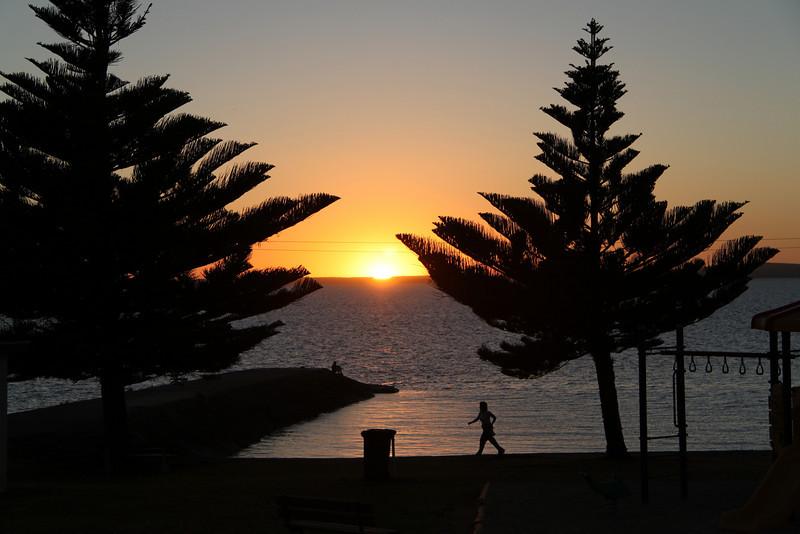 Sunrise at Port Lincoln