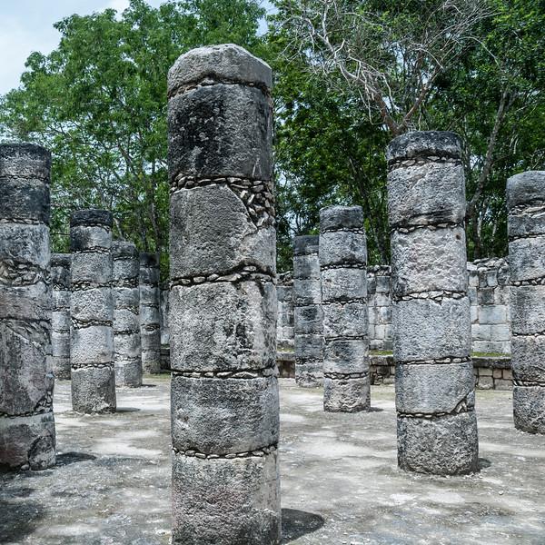 Chichén Itzá - Court of a Thousand Columns