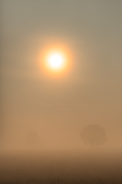Sunrise - Nonantola, Modena, Italy - December 11, 2020