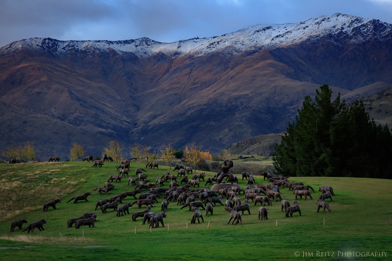 The Hills Golf Club, Arrowtown, New Zealand