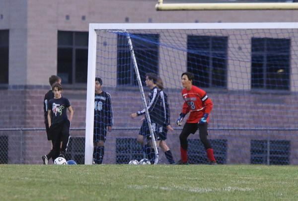 Sullivan West vs. Chapel Field Boys Soccer Senior NIght