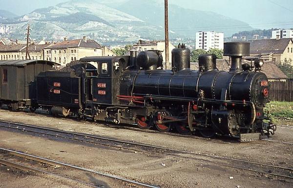 Ćiro na staroj-uskotračnoj željezničkoj stanici 1