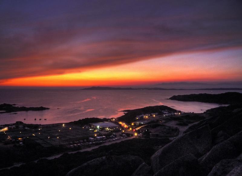 Sunset - La Maddalena Island, Olbia-Tempio, Italy - August 12, 2009