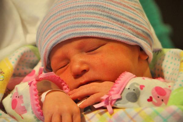 2009, Olivia - in the hospital