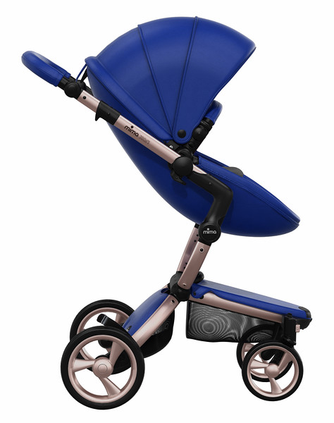 Mima_Xari_Product_Shot_Royal_Blue_Rose_Gold_Chassis_Black_Seat_Pod_Side_View.jpg