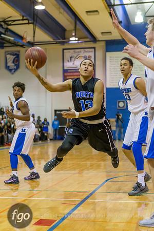 1-19-16 Hopkins v Minneapolis North Boys Basketball