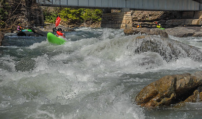 2017-04-09 Middle Fork, Tygart (first rapid)