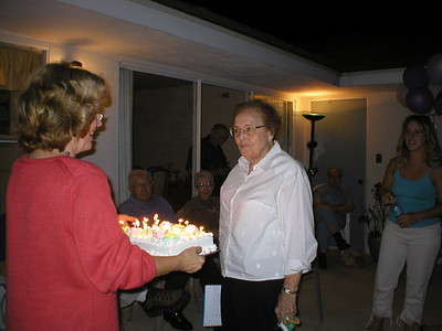 Aunt Ruth's 85th Birthday 2003