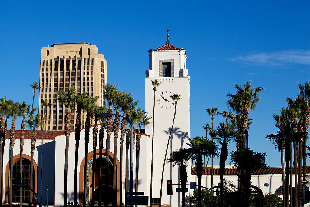 . L.A. Union Station exterior from south   (Courtesy METRO PHOTOGRAPHY DEPARTMENT)