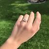 .80ctw Antique English 3-Stone Peruzzi Cut Diamond Ring 1