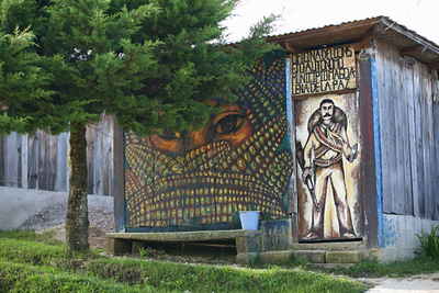 peintures zapatistes / pinturas zapatistas / Zapatist paintings / Zapatistenmalereien