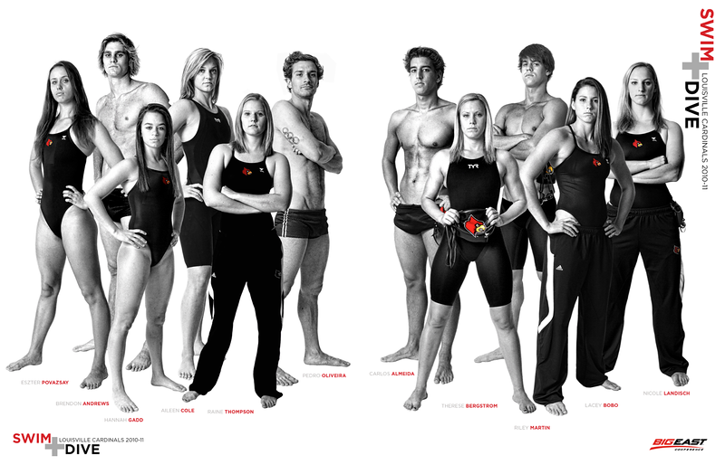 2010-11 - LOUISVILLE SWIMMING AND DIVING PUBLICATION   design and photography by David Klotz