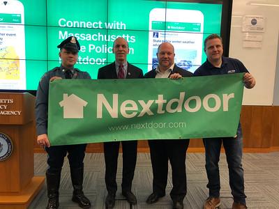 Nextdoor Press Event at MEMA - 02.12.2018
