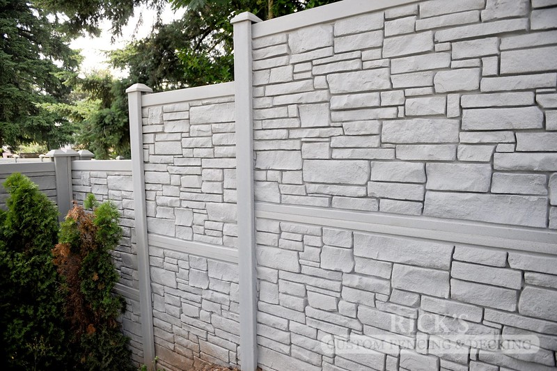 4025 - Allegheny Simulated Rock Fencing