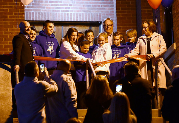 11/15/2019 Mike Orazzi rThe opening ceremony for the Bristol Sports Armory in downtown Bristol on Friday evening.